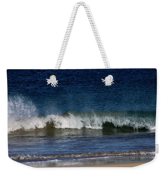 Waves And Surf Weekender Tote Bag