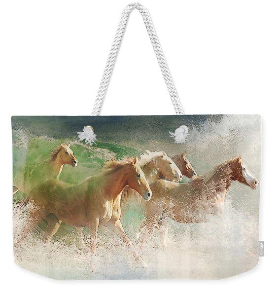 Waves Of God's Glory Weekender Tote Bag
