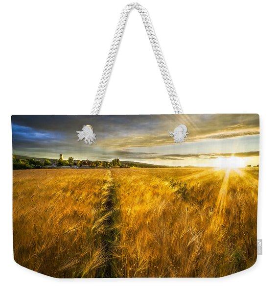 Waves Of Grain Weekender Tote Bag