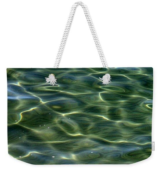 Waves On Lake Tahoe Weekender Tote Bag
