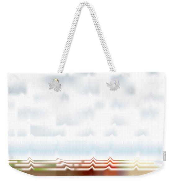 Wavescape Weekender Tote Bag