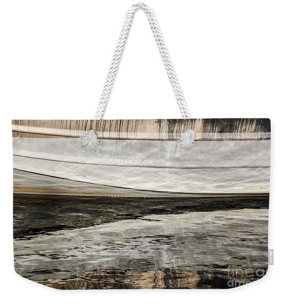 Wavy Reflections Weekender Tote Bag