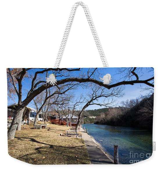 Weekender Tote Bag featuring the photograph We Are Trees And We Are Life by John Wadleigh