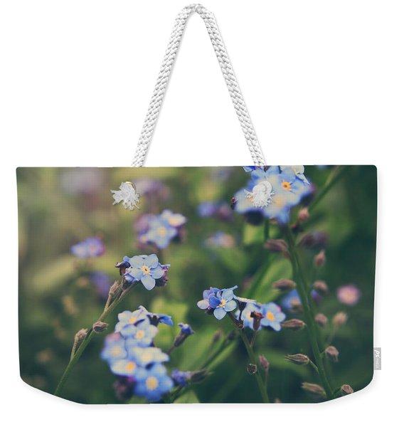 We Lay With The Flowers Weekender Tote Bag