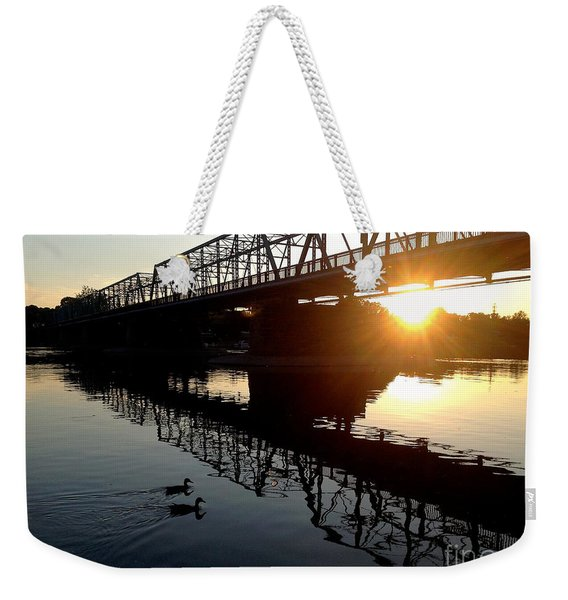 We Move Into The Light - 3 Weekender Tote Bag