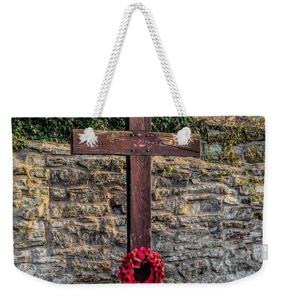 We Will Remember Weekender Tote Bag