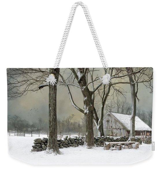 Weathering Weekender Tote Bag