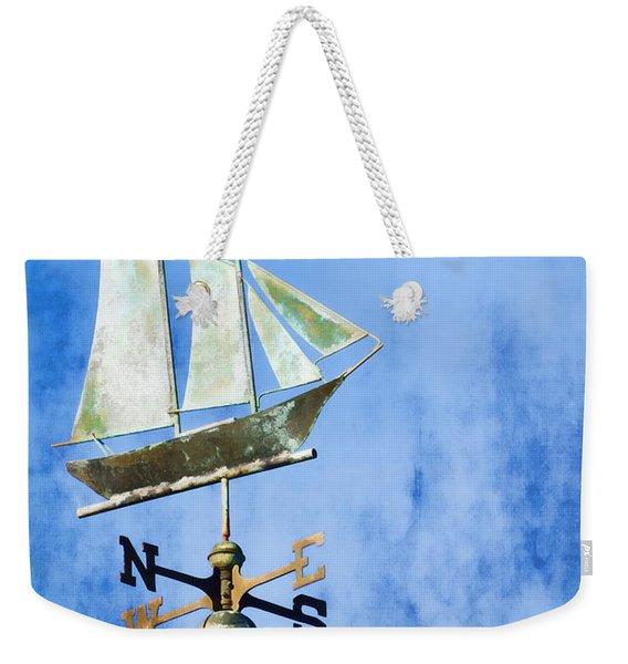 Weathervane Clipper Ship Weekender Tote Bag