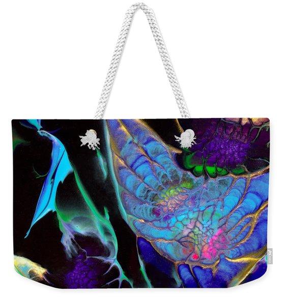 Webbed Galaxy Weekender Tote Bag