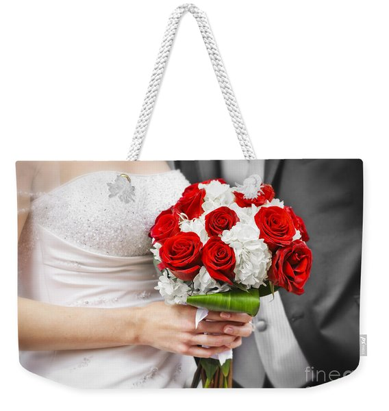 Wedding Weekender Tote Bag