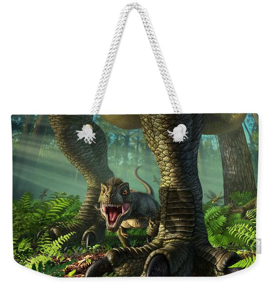 Wee Rex Weekender Tote Bag