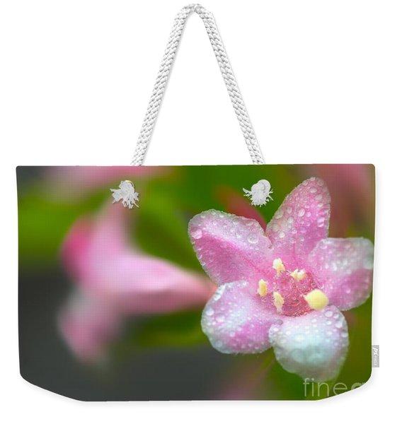 Weigela In Spring Weekender Tote Bag