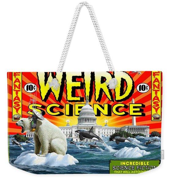 Weird Science Weekender Tote Bag