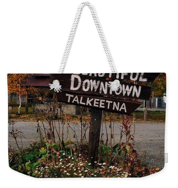 Welcome ... Weekender Tote Bag