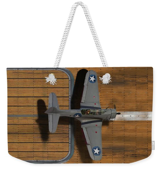 Welcome Home To The Hornet-oil Weekender Tote Bag