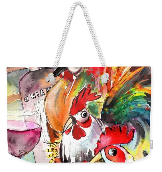 Welcome To Italy 08 Weekender Tote Bag