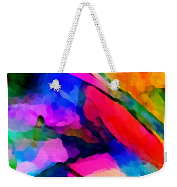 Welcome To My World Triptych Part 1 Weekender Tote Bag