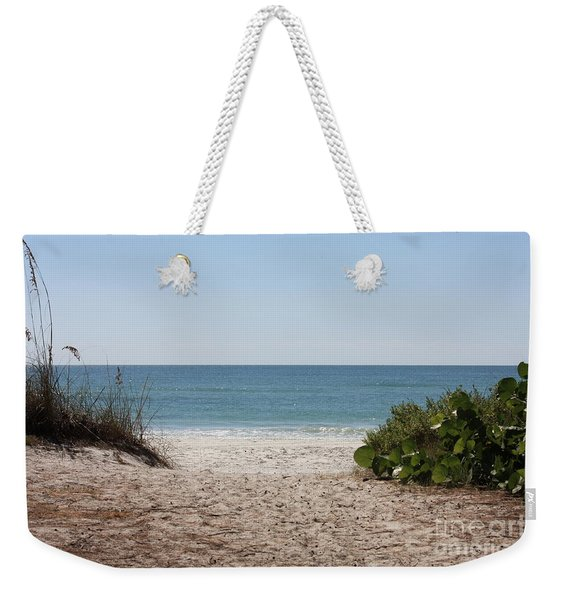 Welcome To The Beach Weekender Tote Bag