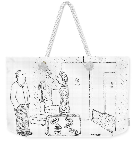 Well, So Long, Bert Weekender Tote Bag