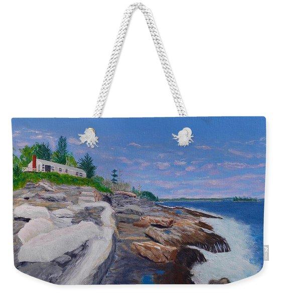 Weske Cottage Weekender Tote Bag