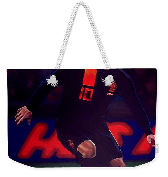 Wesley Sneijder  Weekender Tote Bag