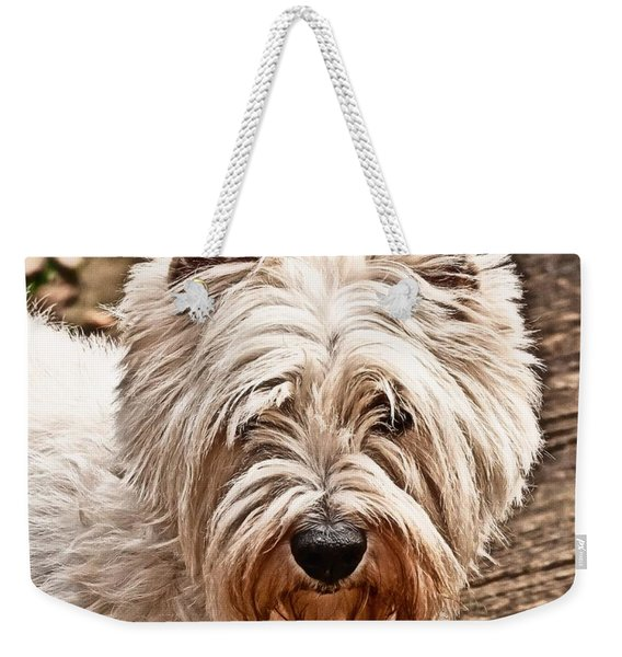 West Highland White Terrier Weekender Tote Bag