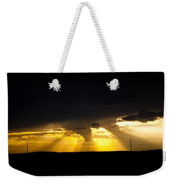 West Of Town Weekender Tote Bag
