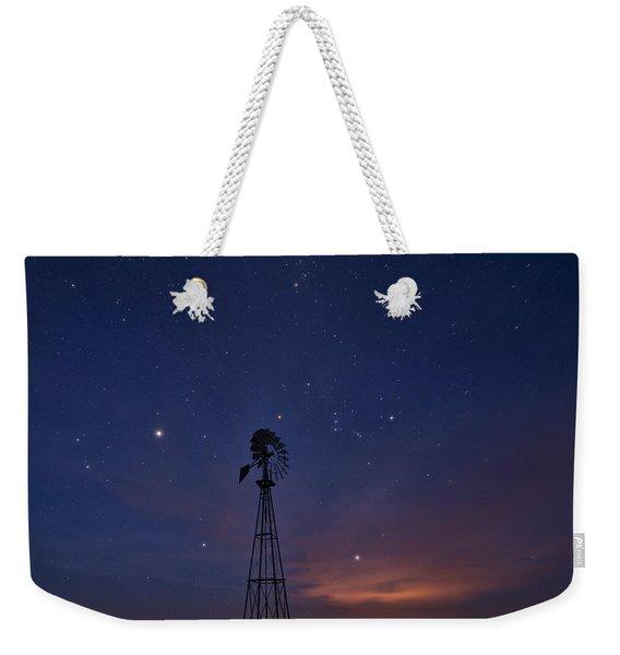 West Texas Sky Weekender Tote Bag