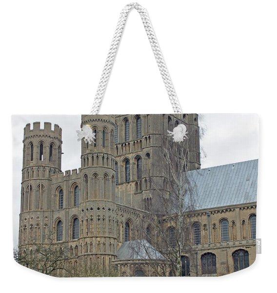West Tower Of Ely Cathedral  Weekender Tote Bag