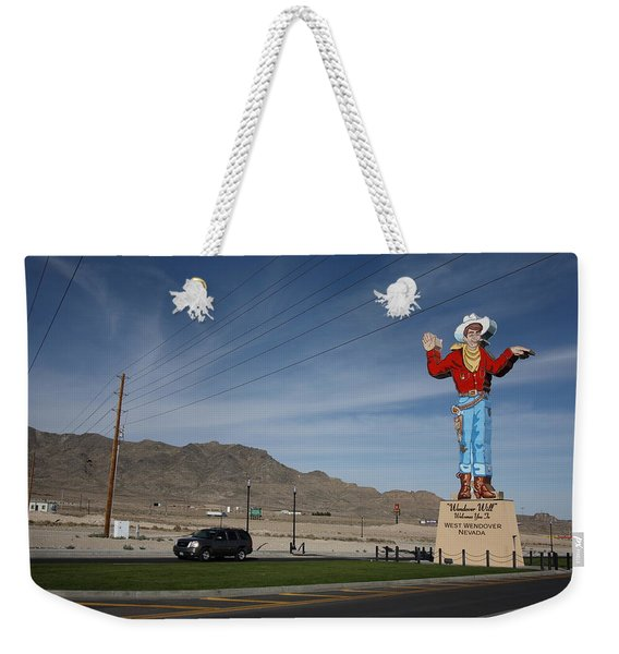 West Wendover Nevada Weekender Tote Bag