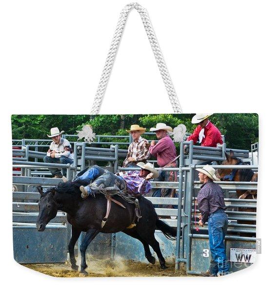 Western Cowboy Weekender Tote Bag
