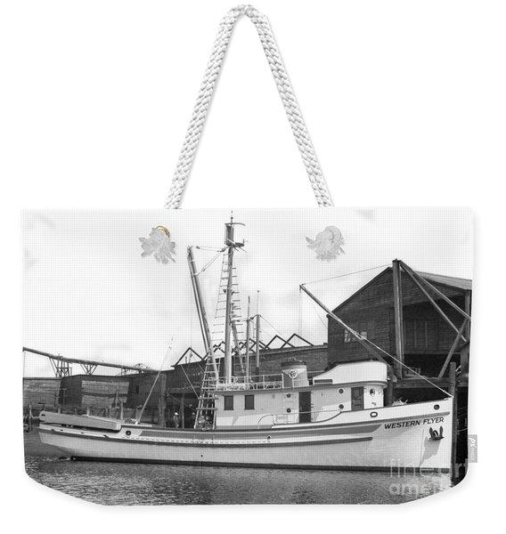 Western Flyer Purse Seiner Tacoma Washington State March 1937 Weekender Tote Bag