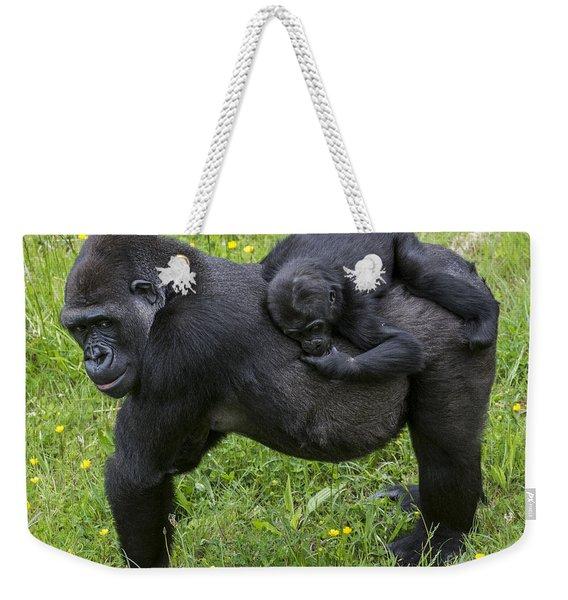 Western Lowland Gorilla 2 Weekender Tote Bag