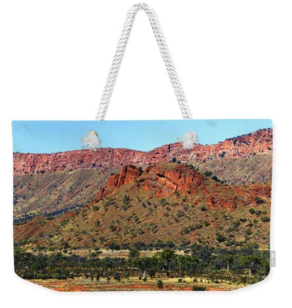 Western Macdonnell Ranges Weekender Tote Bag