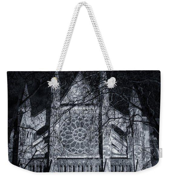 Westminster Abbey North Transept Weekender Tote Bag