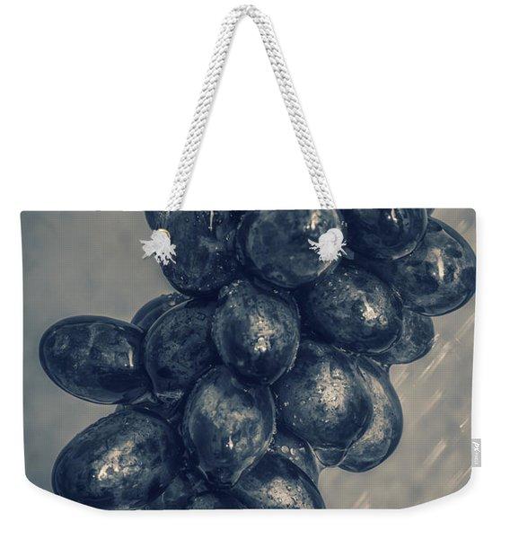 Wet Grapes Five Weekender Tote Bag