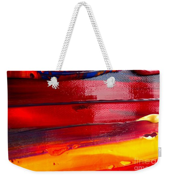 Wet Paint 123 Weekender Tote Bag
