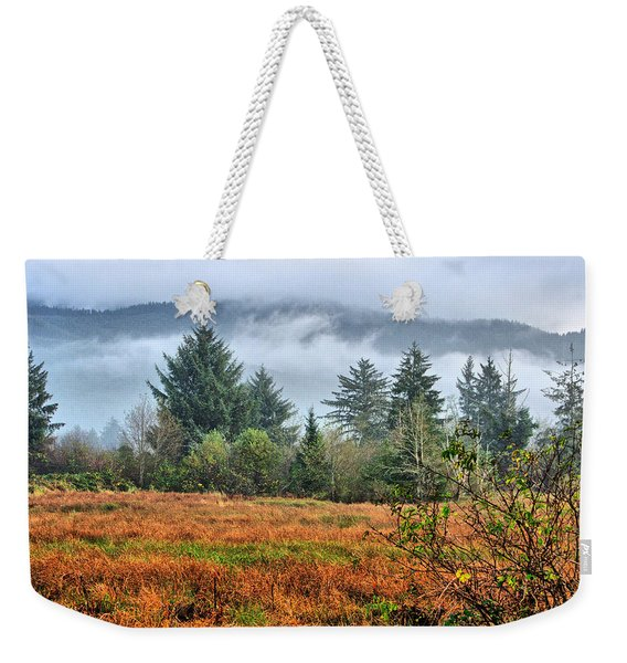 Wetlands In The Fall Weekender Tote Bag
