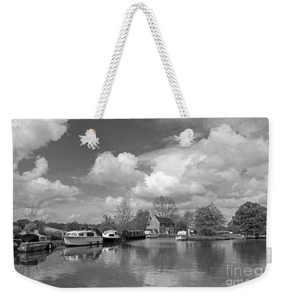 Wey Canal Ripley Surrey Weekender Tote Bag