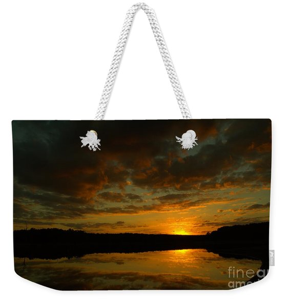 What A Sunset Weekender Tote Bag