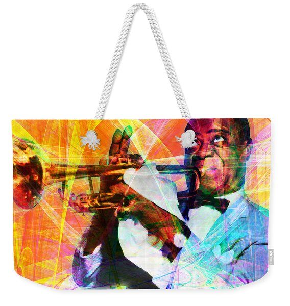 What A Wonderful World Louis Armstrong 20141218 Weekender Tote Bag