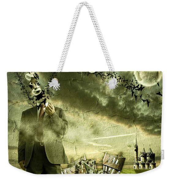 What Are You Thinking Weekender Tote Bag