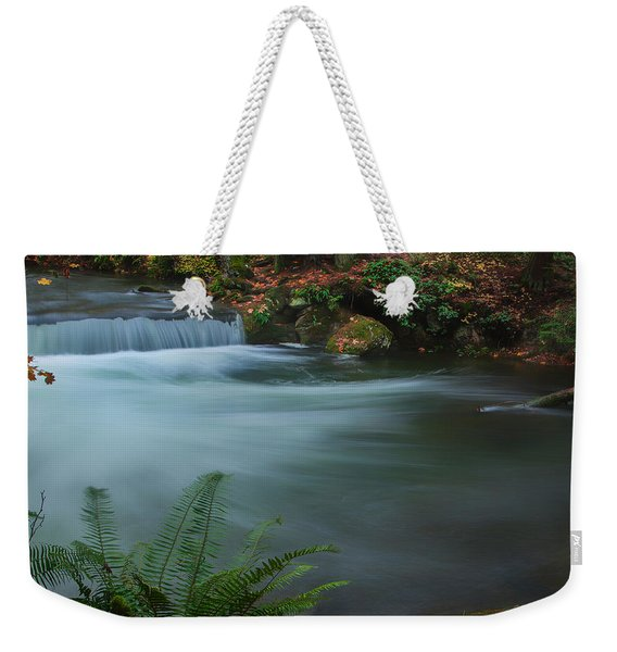 Whatcom Falls Park Weekender Tote Bag