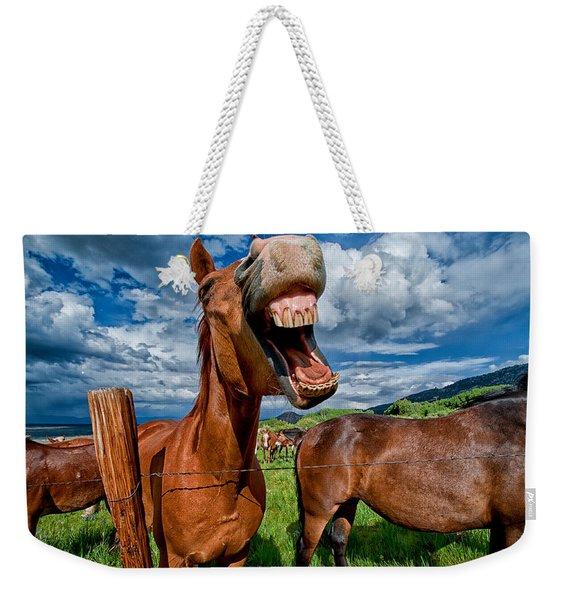 What's So Funny Weekender Tote Bag