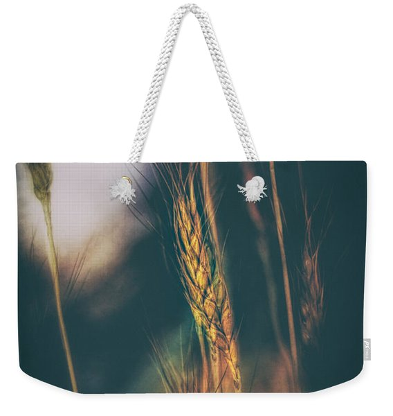 Wheat Of The Evening Weekender Tote Bag