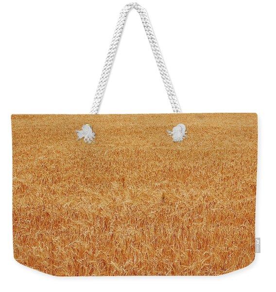 Wheat Texture Weekender Tote Bag