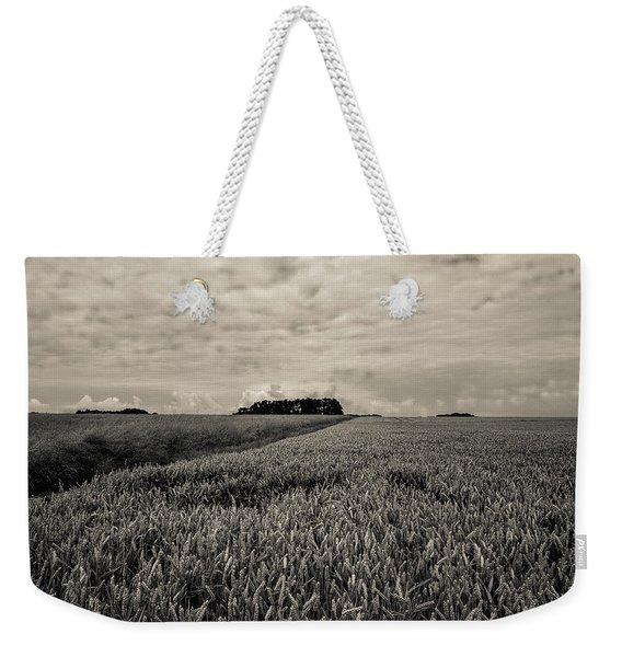 Wheatfields Weekender Tote Bag