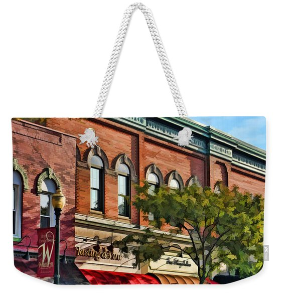 Wheaton Front Street Stores Weekender Tote Bag