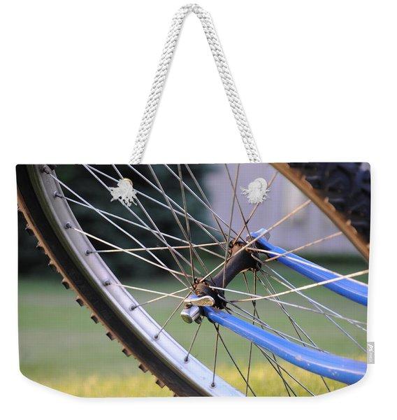 Wheeling Weekender Tote Bag