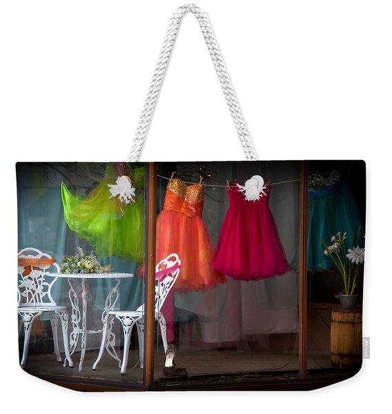 When A Woman Dreams Weekender Tote Bag